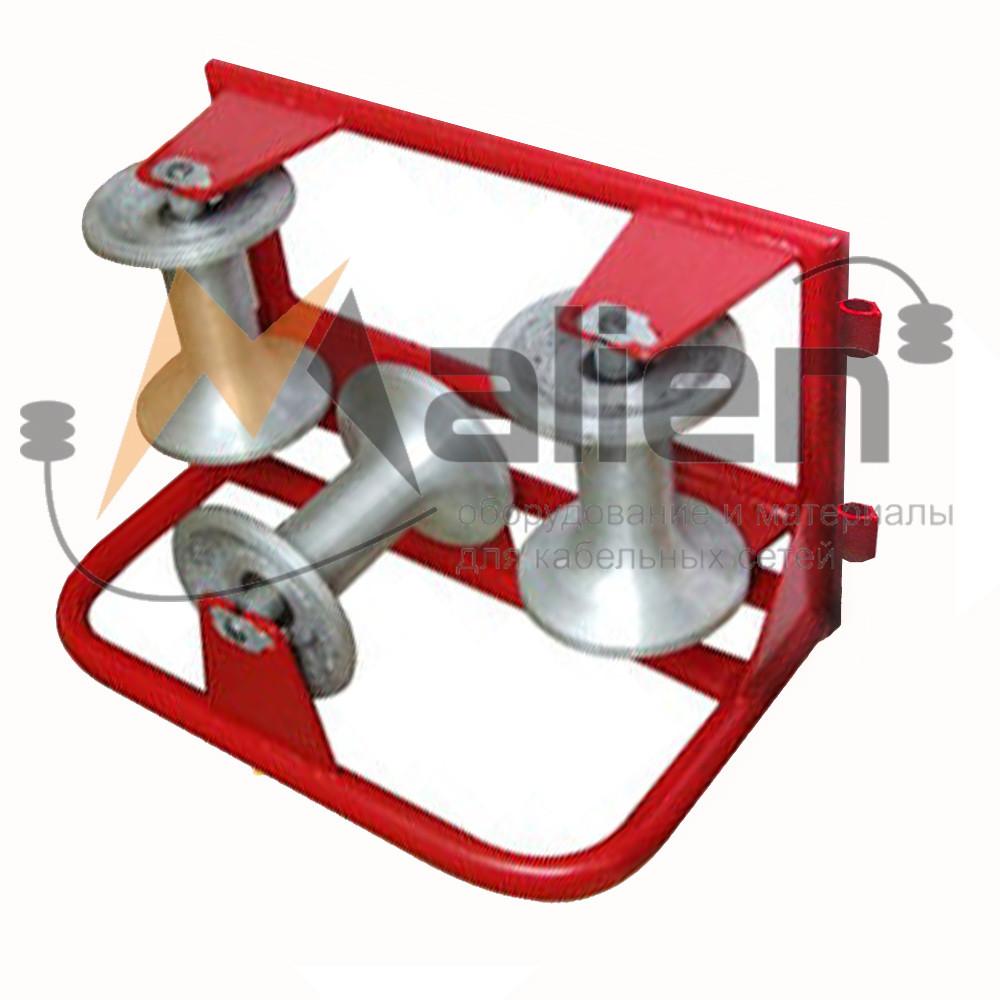 РКУ 3/120 AL Ролик кабельный угловой c алюминиевой катушкой