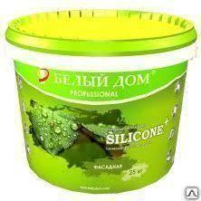 SILICONE+ Фасадная Силиконовая самоочищающаяся фасадная краска 25 литров