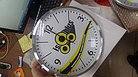 Нанесение логотипа на часы настенные