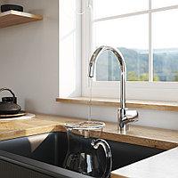 Смеситель для кухни с каналом для питьевой воды, сатин AM.PM F8007711 Like