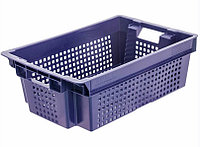 Ящик овощной №1 (перф),синий