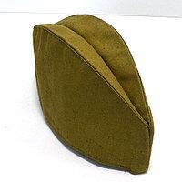 Пилотка военная защитного цвета