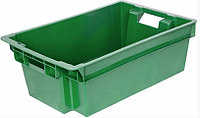 Ящик овощной №3 (сплошной), зеленый