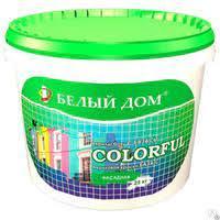 COLORFUL Акриловая краска для наружных и внутренних работ 10 литров