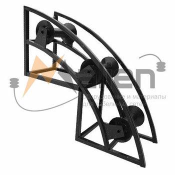 РПК 3/150У Ролик кабельный угловой направляющий