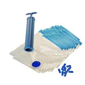 Набор вакуумных мешков для хранения вещей 20 шт. с насосом, фото 2