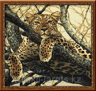 """Набор для вышивания крестом РИОЛИС 937 """"Леопард"""""""