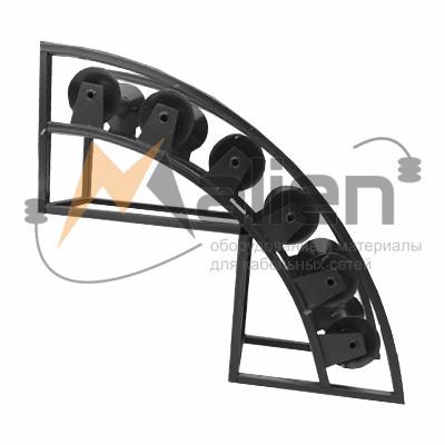 РНУ 6/120 Ролик кабельный угловой направляющий для кабеля 120мм диаметром