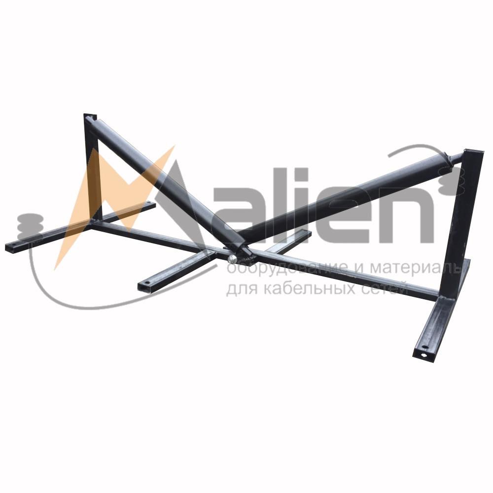 РКН-700 Ролик кабельный выпускающий на сходе с кабельного барабана ширина 700мм