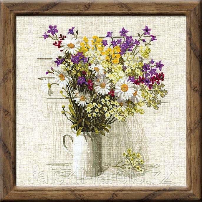 """Набор для вышивания крестом РИОЛИС 924 """"Полевые цветы"""""""