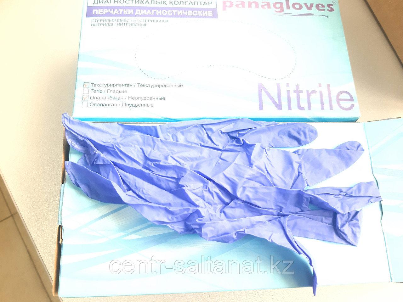 Перчатки нитриловые L 100 штук