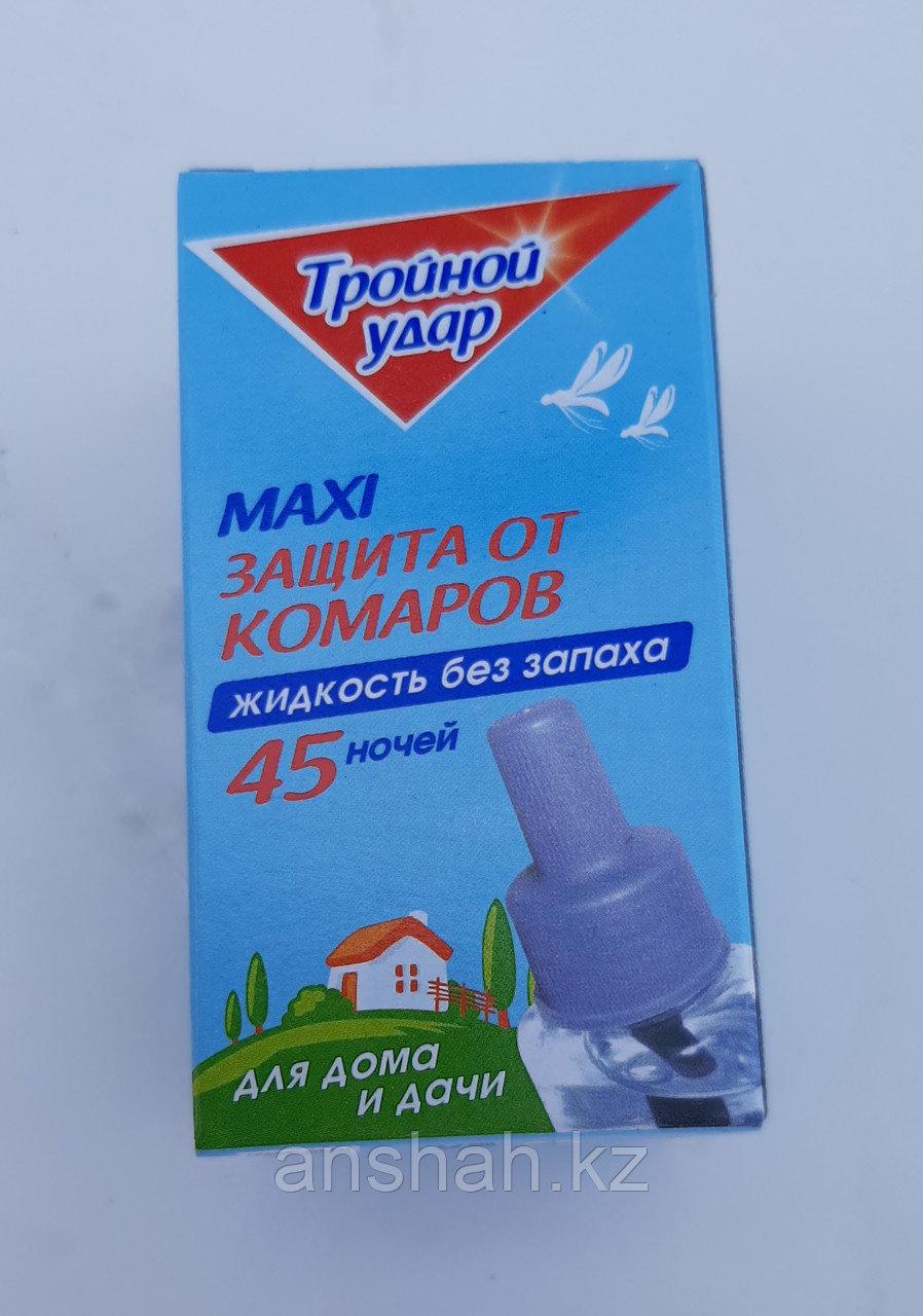 Жидкость от Комаров 45 ночей Домовой тройной удар