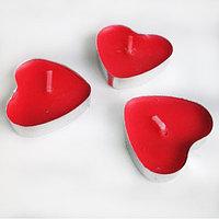 Свеча сердце таблетка 50шт в наборе