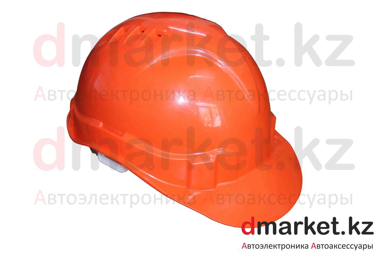 Каска защитная оранжевая, размер 52-62