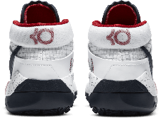"""Баскетбольные кроссовки Nike KD XIII (13) from Kevin Durant """"White"""", фото 2"""
