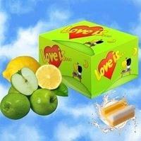 Жевательная резинка Love is… (яблоко-лимон) блок 100 шт