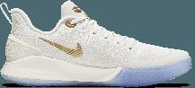 Баскетбольные кроссовки Nike Kobe Mamba Focus White\Gold, фото 3