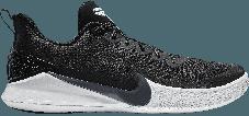 Баскетбольные кроссовки Nike Kobe Mamba Focus Black\White, фото 2