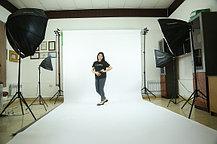 Белый фон Бумажный в рулоне 11м Х 2,72м от Kelly Photo США, фото 2