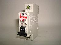 Автоматический выключатель 1Р 63А ВА 47-63 (С) ELS