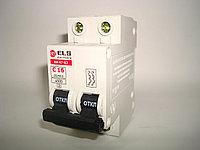Автоматический выключатель 2Р 16А ВА 47-63 (С) ELS