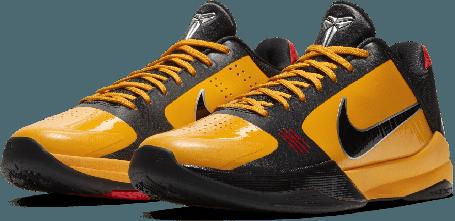 """Баскетбольные кроссовки Kobe Protro 5 """"Bruce Lee"""" (40-46), фото 2"""