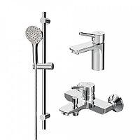 Набор смесителей для ванной комнаты 3в1 AM.PM F40985B00 X-Joy S