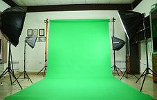 Зелёный фон Бумажный в рулоне 11м Х 2,72м от Kelly Photo США, фото 3
