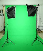Зелёный фон Бумажный в рулоне 11м Х 2,72м от Kelly Photo США, фото 2