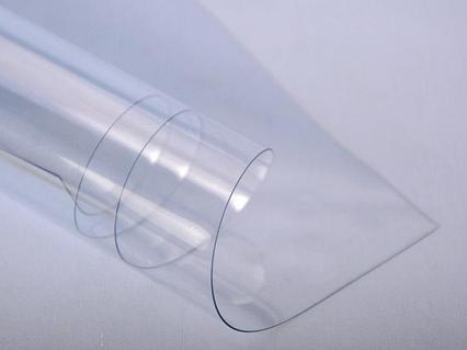 PVC/PET Листы (0,75мм) 1,22м х 2.44м прозрачный