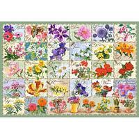 Castorland: Пазлы Цветочный алфавит, 1000 дет.