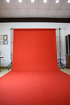 Красный фон Бумажный в рулоне 11м Х 2,72м от Kelly Photo США, фото 2