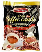 """Карамель Melland """"Milk Coffe Candy"""" кофе с молоком 100г (Корея)"""