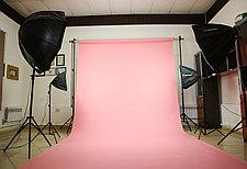 Розовый фон Бумажный в рулоне 11м Х 2,72м от Kelly Photo США, фото 3
