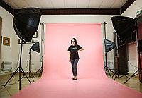 Розовый фон Бумажный в рулоне 11м Х 2,72м от Kelly Photo США