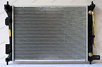 Радиатор охлаждения GERAT HY-115/1R Hyundai I20 I пок., Accent RB, Solaris I пок., Kia Rio UB 2011-