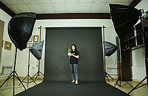 Чёрный фон Бумажный в рулоне 11м Х 2,72м от Kelly Photo США, фото 2
