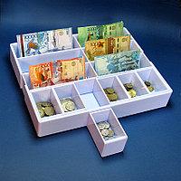 Лоток для монет и купюр 6+6 (33*26*5,5)