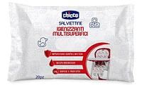 Chicco: Салфетки очищающие для поверхностей универсальные  20 шт.