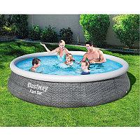 Надувной бассейн Bestway 57376 с фильтр-насосом 396х84 см