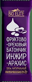 Батончик BioElite. Инжир-арахис. Без упаковки