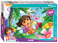"""Step Puzzle: Пазлы """"Даша-путешественница"""" 104эл."""