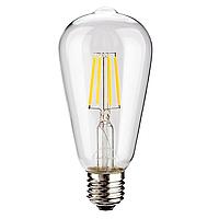 Лофт-лампа Эдисона ST64 Filament Led 4W E27, фото 1
