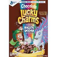 Сухой завтрак Lucky Charms Chocolate с маршмеллоу 340 гр