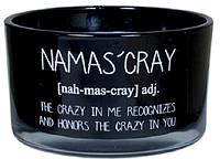 """Свеча ароматическая """"Namas'cray, crazy"""". Теплый кашемир"""