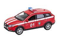 Welly: 1:34-39 LADA VESTA SW CROSS пожарная охрана