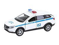 Welly: 1:34-39 LADA VESTA SW CROSS полиция ДПС