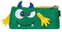 Пенал плоский Монстрик зеленый