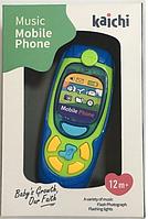 """Kaichi: Игрушка развивающая """"Телефон""""д/мальчика голубой"""