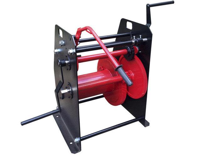 Лебедка барабанная TOR ТЛ-1,5Т г/п 1500 кг H-100 м (без каната)